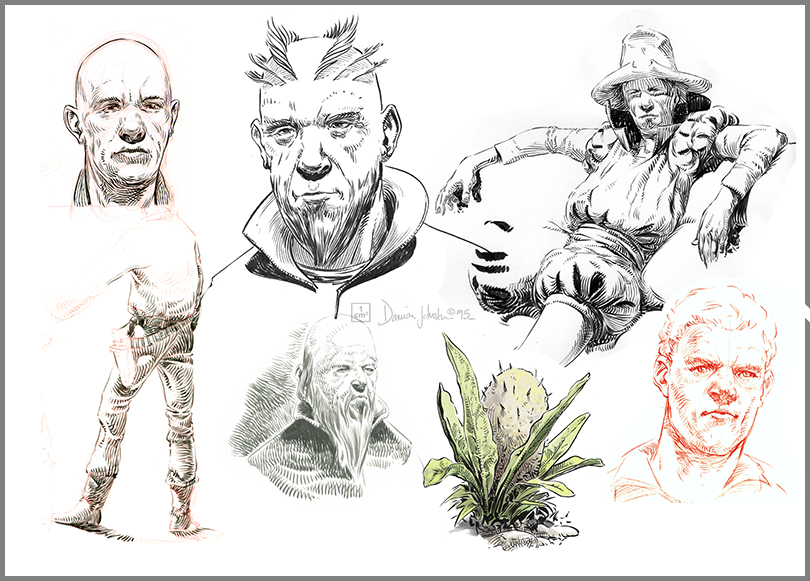 sketches - various 1