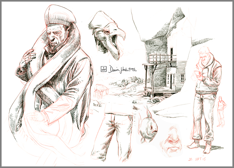 sketches - various 3