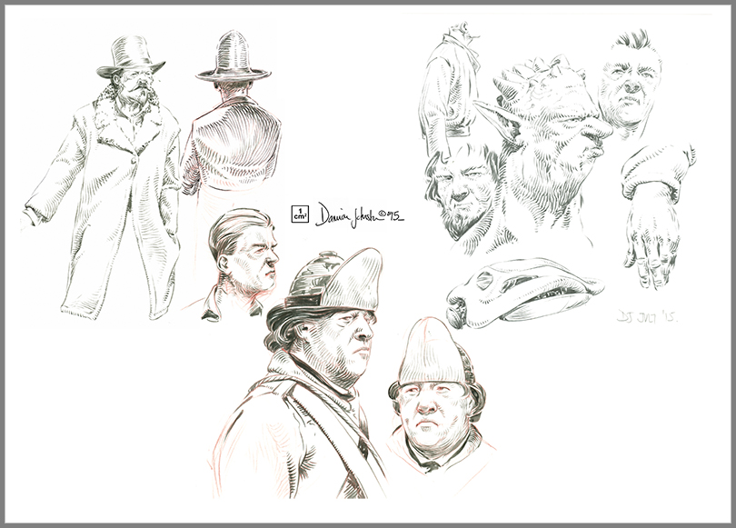 sketches - various 6